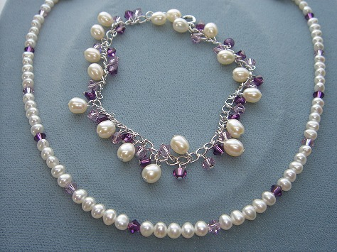 淡水真珠アクセサリ−1318
