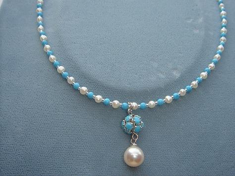 淡水真珠アクセサリ−2092