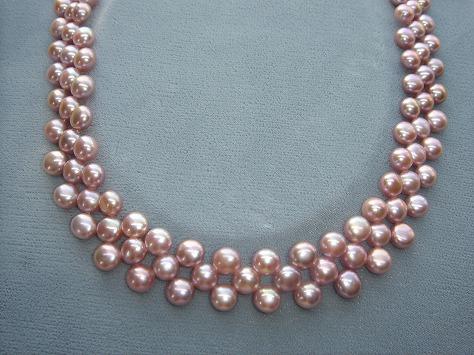 淡水真珠アクセサリ−7715