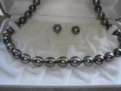 タヒチ産黒ネックレスB50556