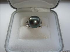 南洋黒真珠リング68981