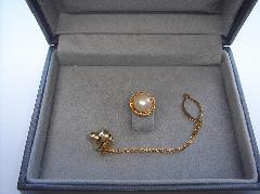 アコヤ真珠タイピン94520