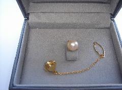 アコヤ真珠タイピン94521