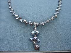 淡水真珠アクセサリ−1376