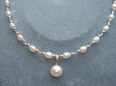 淡水真珠アクセサリ−2159