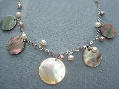 淡水真珠アクセサリ−1328
