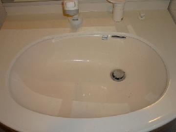 洗面所 清掃前