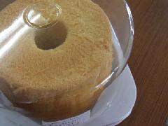米粉のシフォンケーキ/ホール(プレーン)