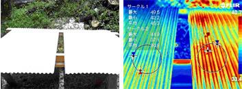 トタン板の温度検証