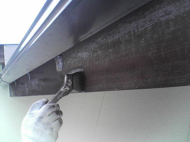 附帯部分の塗装