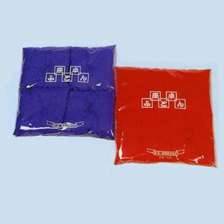 リンズ地座卓敷(新わた入)20cm角 4枚組 ビニール袋入