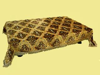 金華山織テーブルクロス 5尺テーブル用