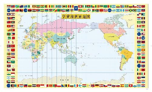 デスクマット 世界地図・日本地図