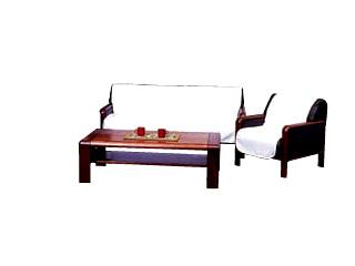 リビングセットカバー 3人掛用肘ナシ (綿紋織)