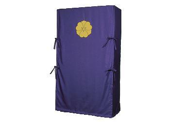 紬織たんすゆたん(刺繍紋いり) 三方包<間口139cm以上(生地幅つなぎ)>