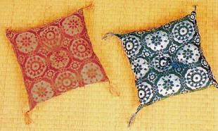 高級桐華織(新わた入)15cm角 4枚組 ビニール袋入