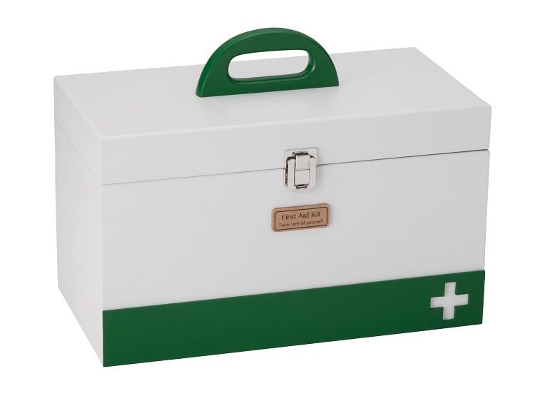 救急箱 ホワイト L