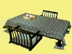 桐華織テーブルクロス 5尺テーブル用