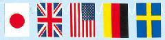 ポリエチレン万国旗