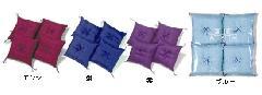 高級紬織(新わた入)20cm角 4枚組 ビニール袋入