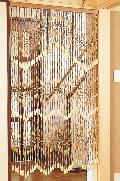 天然木 珠のれん 85 × 150 cm