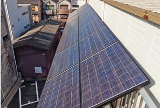 本社(屋上)太陽ソーラー