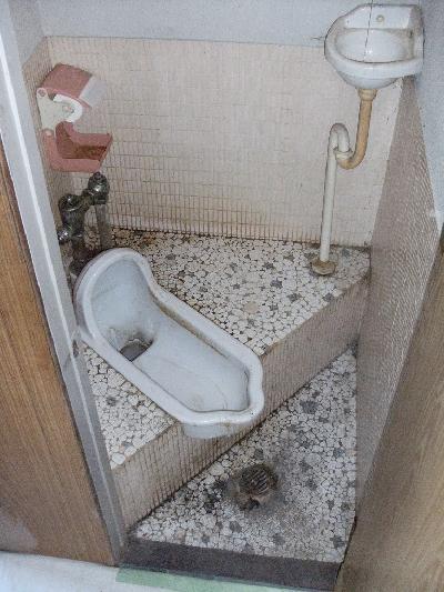 昔ながらのトイレをリフォームしました