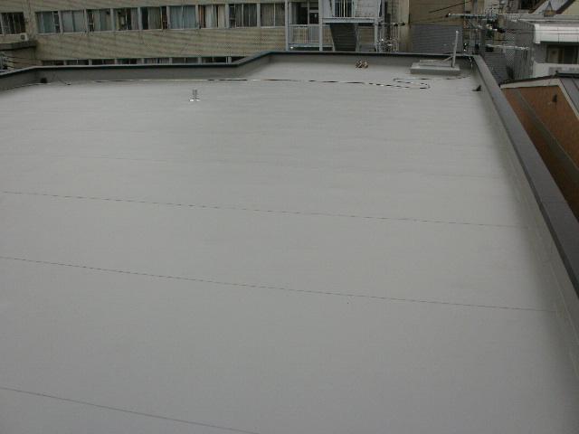 新規 塩ビシート防水 絶縁工法