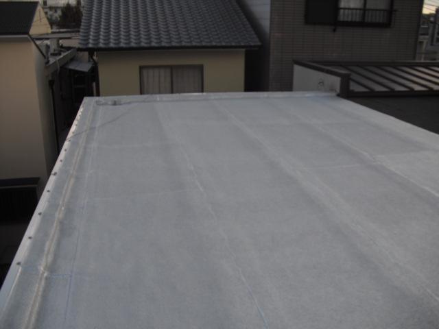 施工後 アスファルト防水(冷工法)