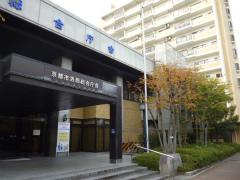 京都市内の西京区役所の屋上防水工事