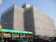 大型施設の外壁防水塗装
