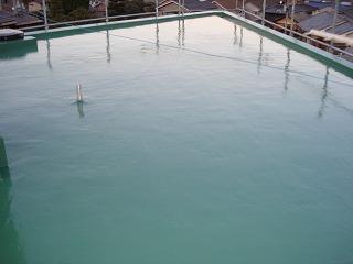 シート+ウレタン防水