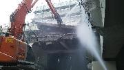 大阪府池田市RC4階建 躯体解体の写真