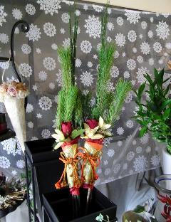 花飾りミニ門松