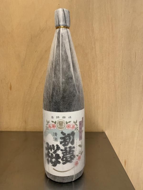 初夢桜 夢吟香 純米吟醸酒 1.8L
