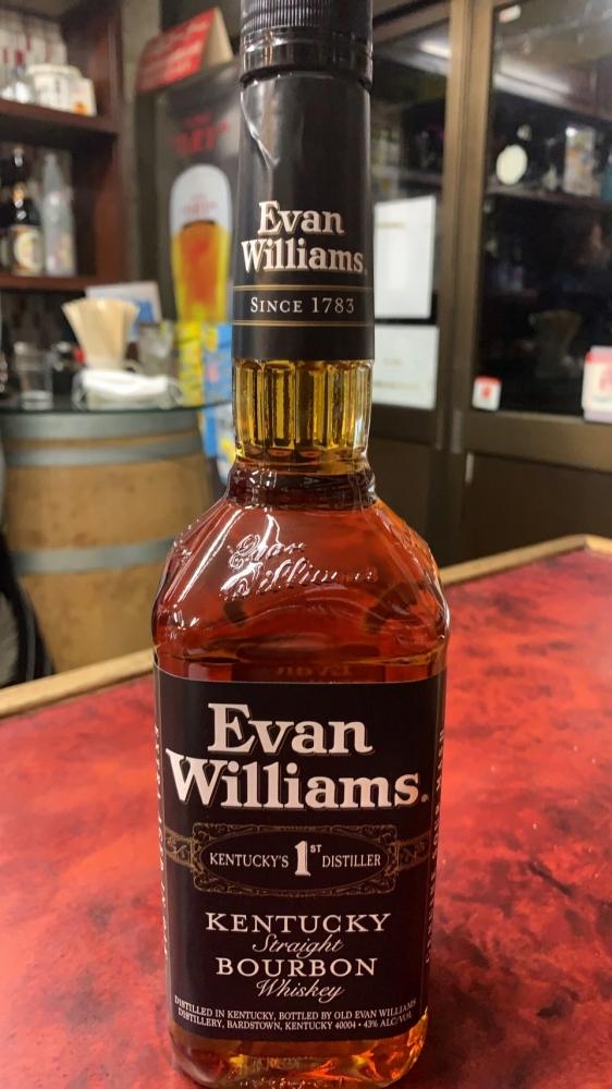 エヴァン・ウィリアムス ブラックラベル 750ml
