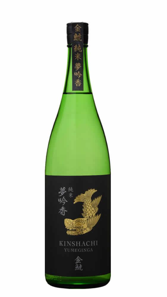 金鯱 夢吟香 純米酒 1.8L
