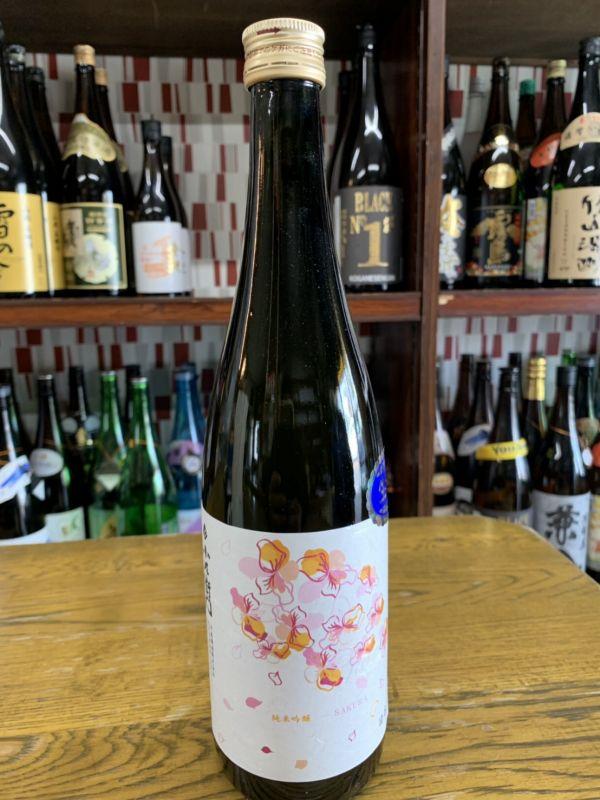 小左衛門 純米吟醸桜ラベル 720ml