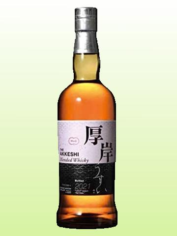 厚岸 ブレンデット ウイスキー『雨水』 [ ウイスキー 日本 700ml ]