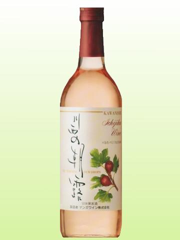 川西特産【いちじくワイン】川西の朝露 720ml
