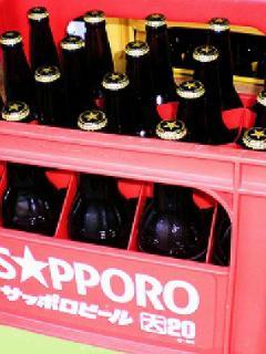 サッポロ 黒ラベル (大瓶) 633ml