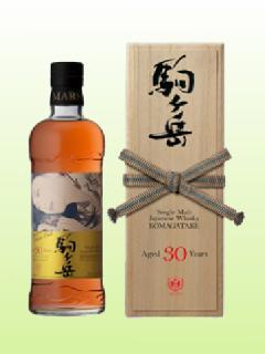 シングルモルト駒ヶ岳1986 30年カスク 桐箱入 本坊酒造 マルス