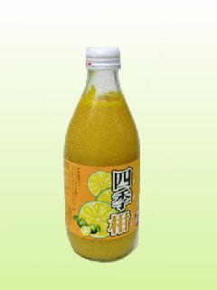 シークワーサー入り四季柑100%果汁360ml