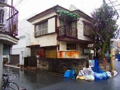 家屋解体 東京杉並区
