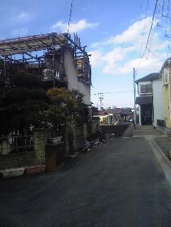罹災建屋解体