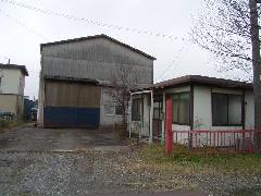 埼玉県吉川市鉄骨造倉庫、事務所解体