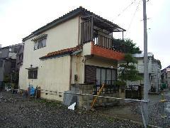 家屋解体工事 東京江戸川区