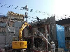東京都杉並区ALC造建家解体