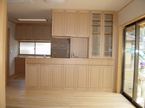 【新築住宅】キッチン&リビング収納