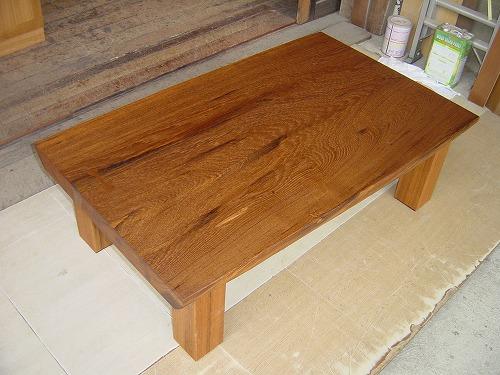 T様邸 座卓テーブル